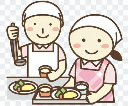 營養師/炊具/烹飪職員/廚房職員2