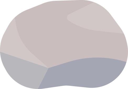 光滑的石頭