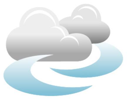 天氣風圖標