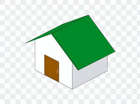 房子無論是新用的窗戶綠色