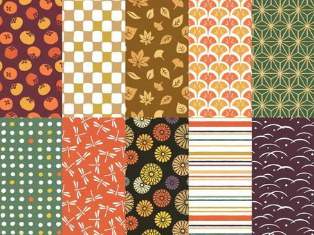 秋季日本模式無縫模式