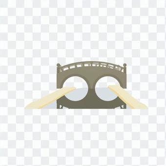 Glasses bridge