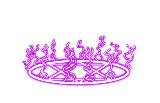 閃電魔法小隊(紫色)