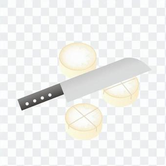 Daikon's hidden kitchen knife