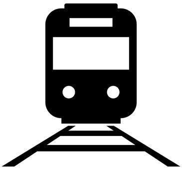 火車和鐵路圖標