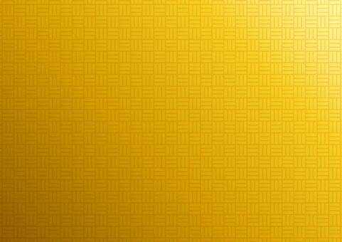 金色漸變三斷圖案的日式圖案背景