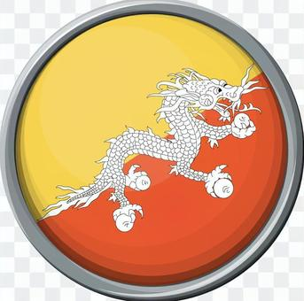 不丹國旗/圖標