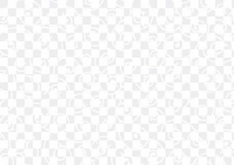 無縫日式蔓藤花紋