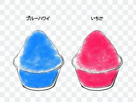 刨冰簡單手繪1