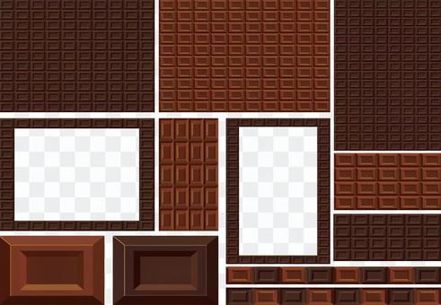 板巧克力糖果糖果纹理