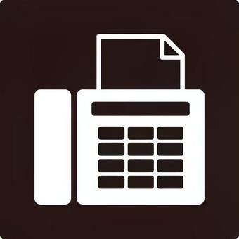 Icon (fax · black)