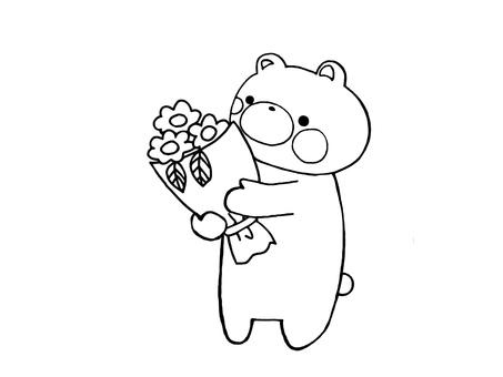 花束和熊2之1