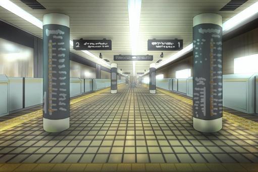 地鐵站001