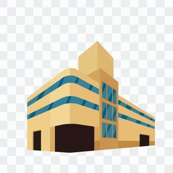 Three-dimensional garage