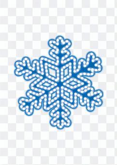 霓虹燈·雪水晶(白色背景)