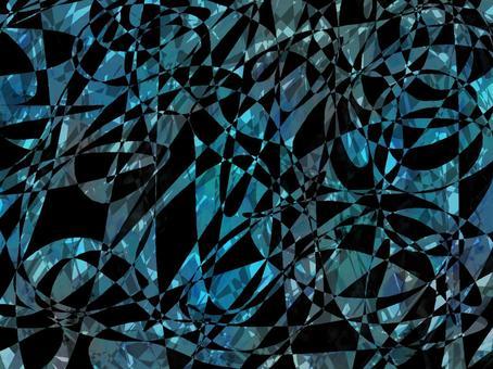 黑色和淺藍色閃光寶石紋理背景