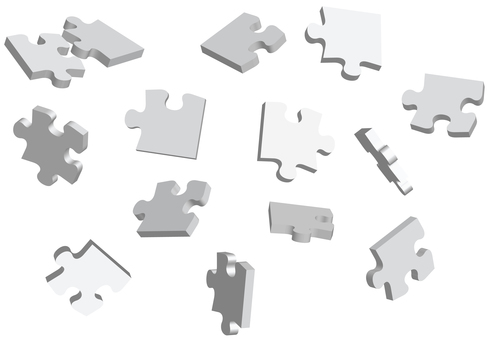 Crumbling puzzle