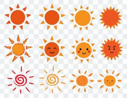 太陽和大is設置