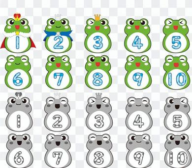 青蛙排名圖標
