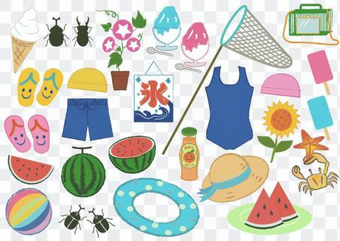 summer_ Accessories in summer