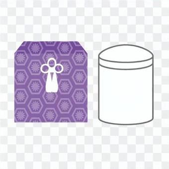 骨盆和骨架的盒子
