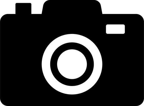 相機單色圖標