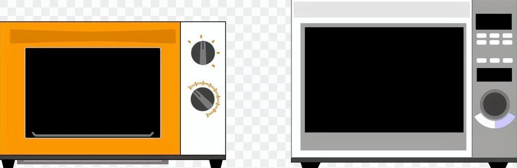 微波爐多士爐4C A顏色