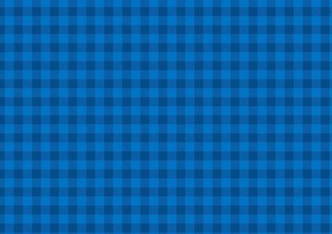 藍色x海軍藍格子檢查
