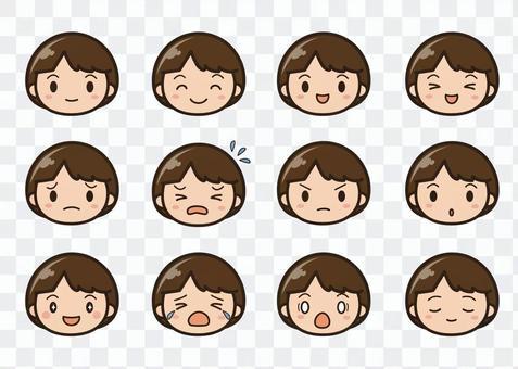 表情セット1