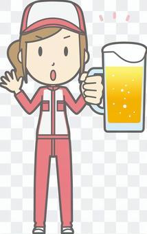 机械师女人 - 啤酒小心 - 全身