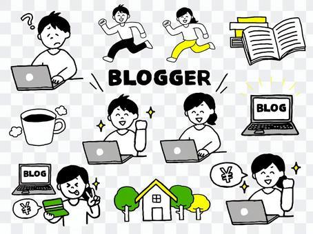 Blogger集(簡單)