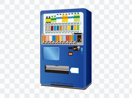 自動販賣機(藍色)
