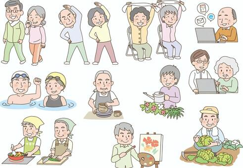 Elderly Lively Hobby Activity 2
