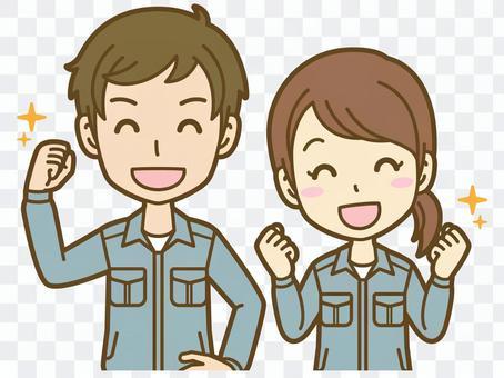 男人和女人(工人):C_Ki 04BS