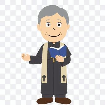 教會大臣的插圖