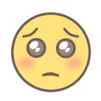 面對哭泣的臉悲傷的表情黃色