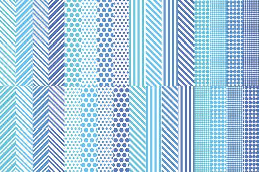 Versatile blue pattern set 2