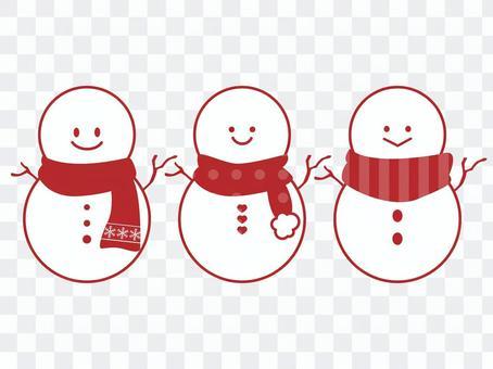 A simple snowman