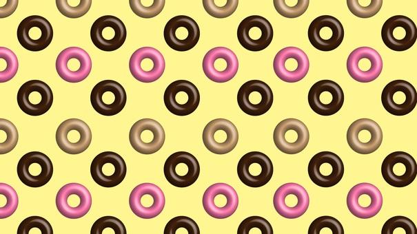 Donut-like background