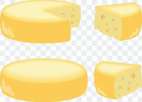 ホールチーズ セット