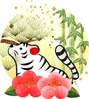 White Tiger Tiger Year Shochikuume Icon Transparent Ali