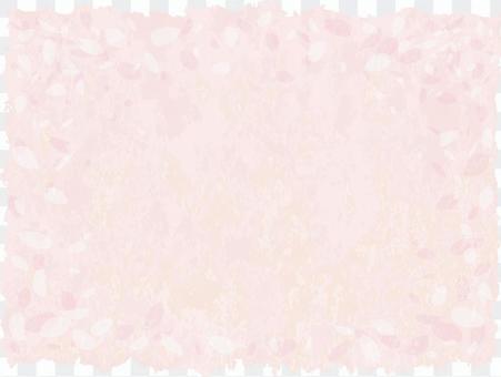 Sakura petals Japanese paper Congratulations background Pink spring material