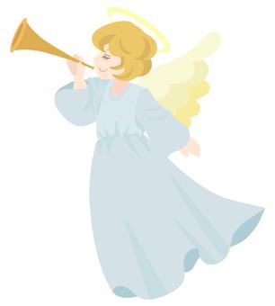 吹喇叭的天使