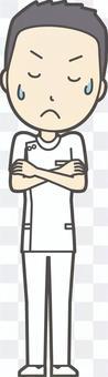 男護士短髮016-全身