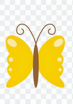 鳳蝶(黃色)