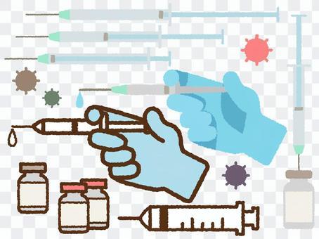 疫苗接種插圖集