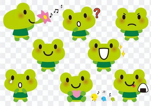 可愛的青蛙