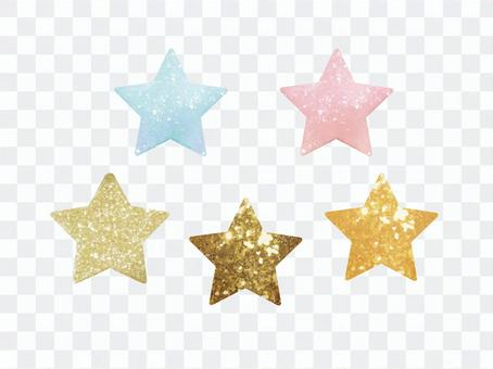 Glitter motif