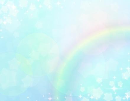 夢可愛_淡藍色_星彩虹