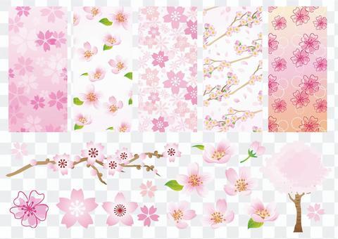 樱花材料总结